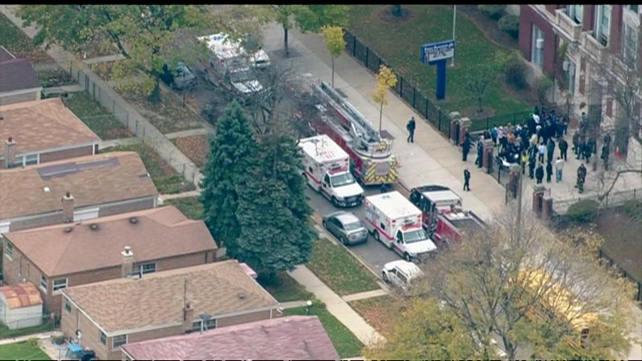 Harold Washington Elementary carbon monoxide leak sickens 25 students