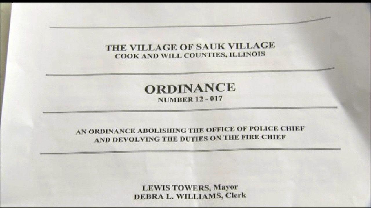 Sauk Village keeping its police chief