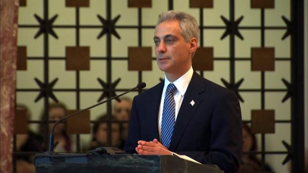 Chicago Mayor Rahm Emanuel's eulogy for fallen Chicago Firefighter Herbert 'Herbie' Johnson