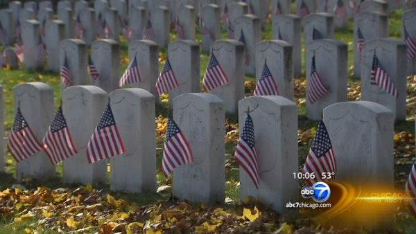 Veterans honored throughout Chicago area