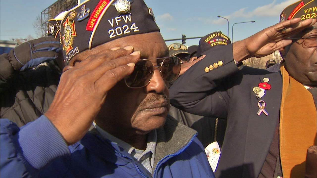 Chicago Veterans Day Parade honors local veterans