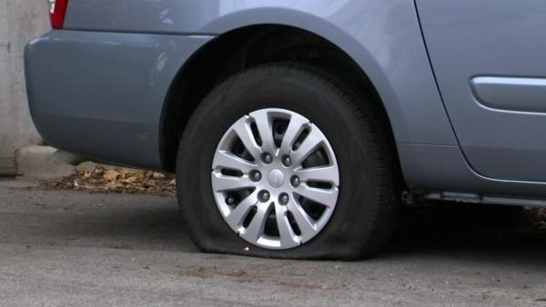 Dozens of North Side car owners wake to find tires slashed