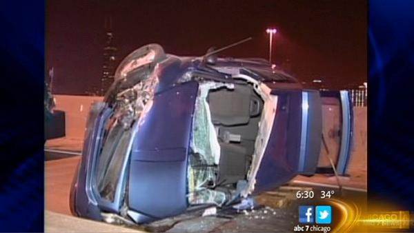 Dan Ryan crash kills at least 1, injures 4 others