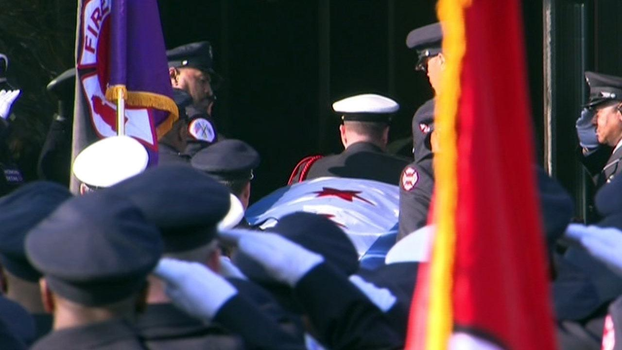 Funeral held for firefighter Walter Patmon Jr.