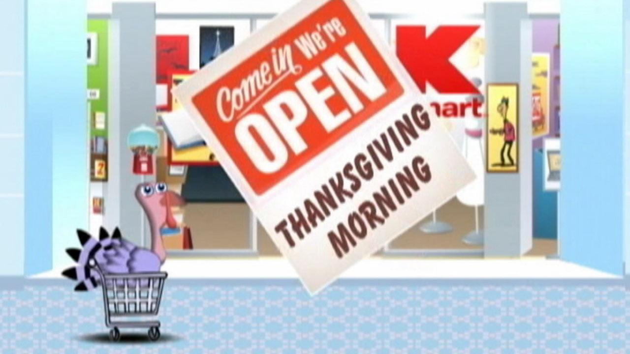 Doorbuster deals on Thanksgiving Day