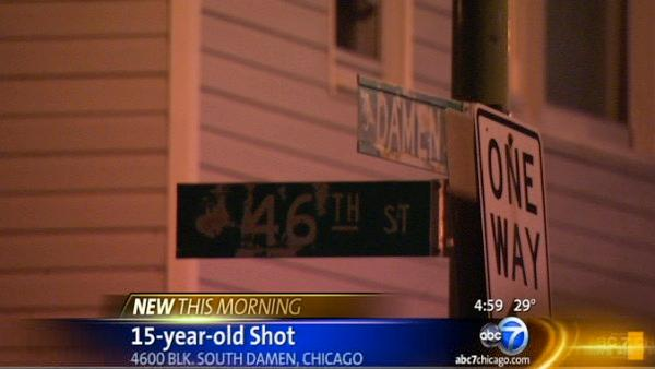 Boy, 15, shot multiple times on SW Side