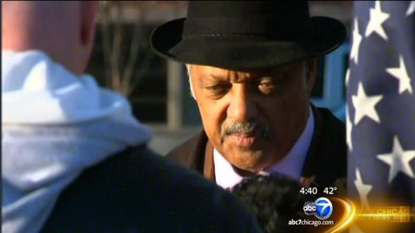 Rev. Jackson appears in court after Sensata protest