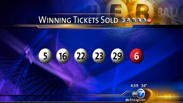 Powerball winning numbers yield 2 winners