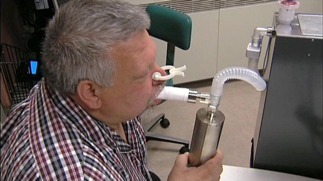 Breath test used to screen for cancer