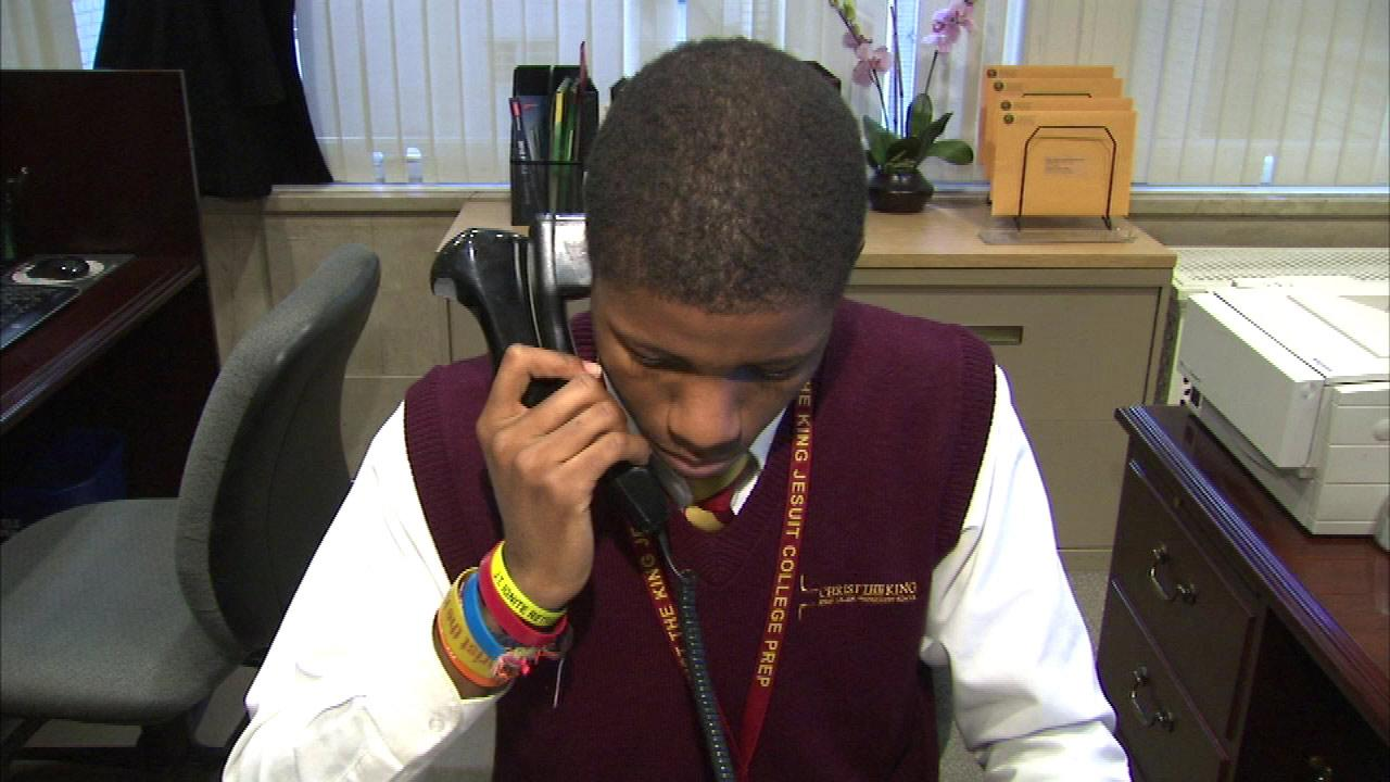 Christ the King High School students share Chicago City Hall job