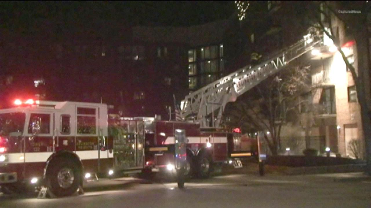 Woman killed in Arlington Heights apartment fire