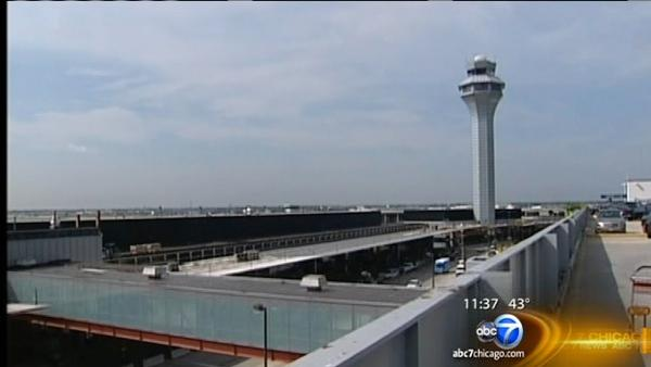 Hundreds of workers at O'Hare are losing their jobs Friday
