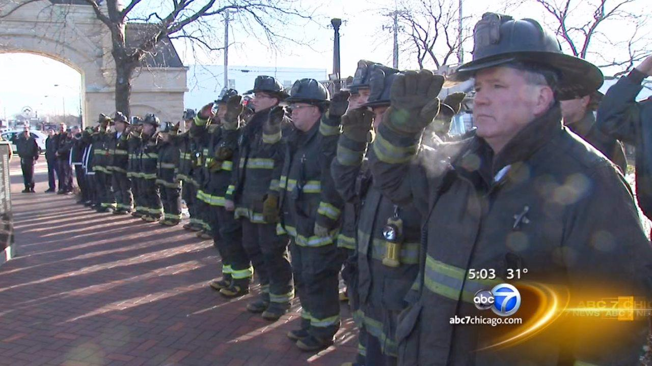 Chicago firefighters remember 21 killed in 1910 fire