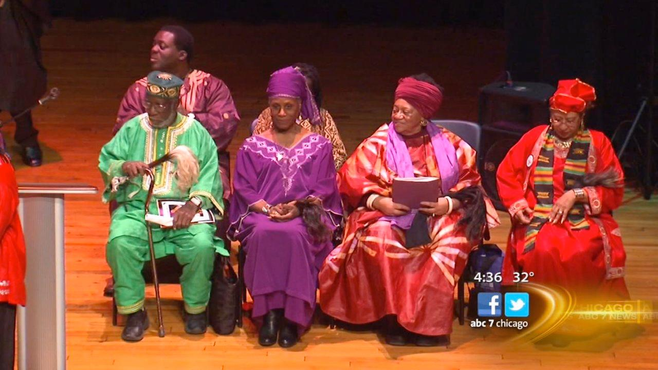 Kwanzaa celebrations ring out across Chicago