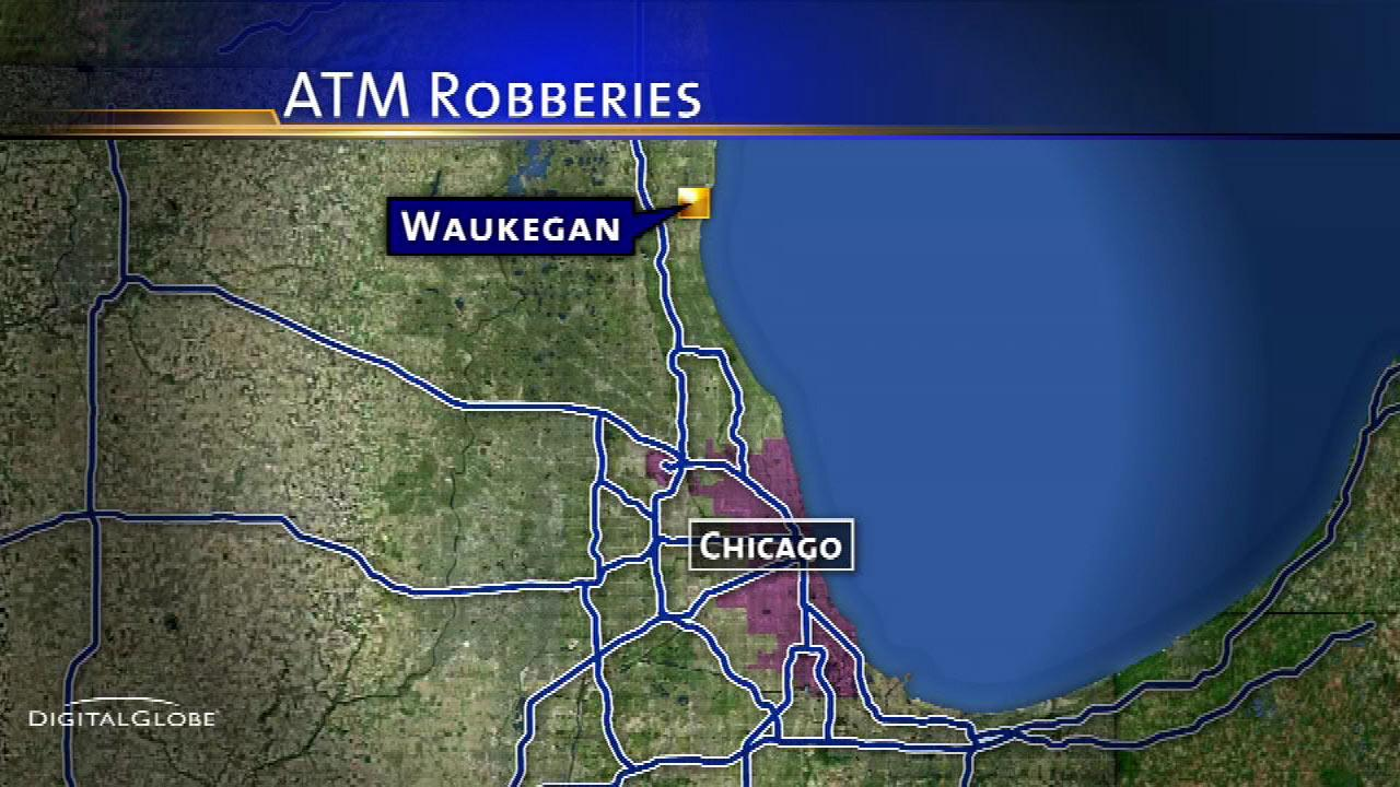 ATM robberies in Waukegan prompt police warning