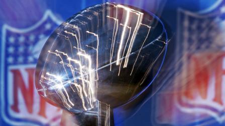 The Lombardi Trophy is seen in this file photo.