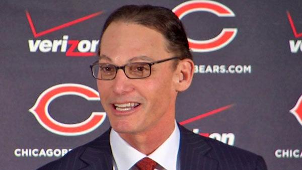 Marc Trestman was introduced as new Chicago Bears head coach at Halas Hall in Lake Forest, Illinois, Thursday, January 17, 2013.