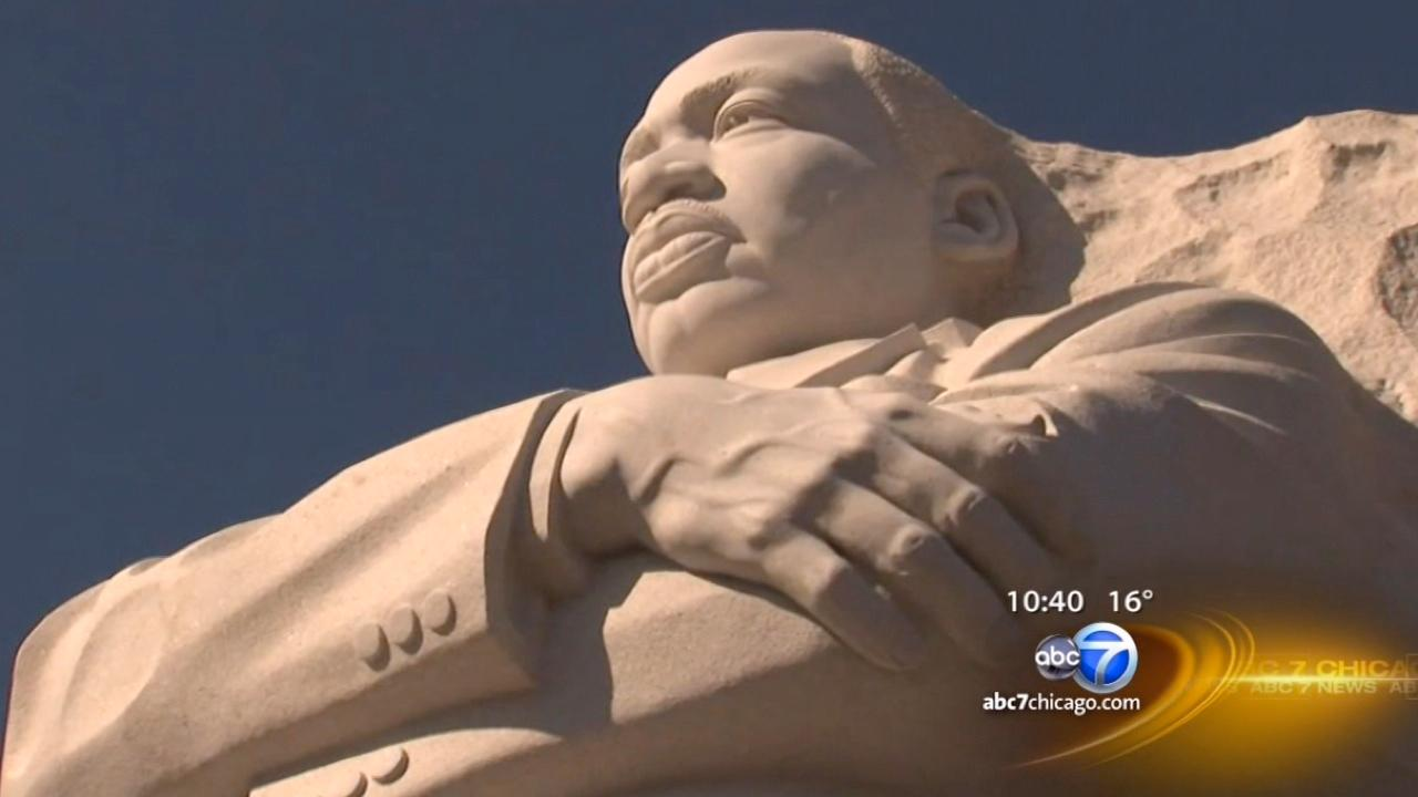 Dr. Martin Luther King Jr. memorial has special meaning on Inauguration Eve