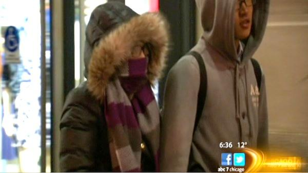 High winds, coldest temps of the season hit Chicago area