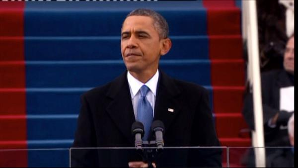 Inauguration Day 2013: President Obama speaks