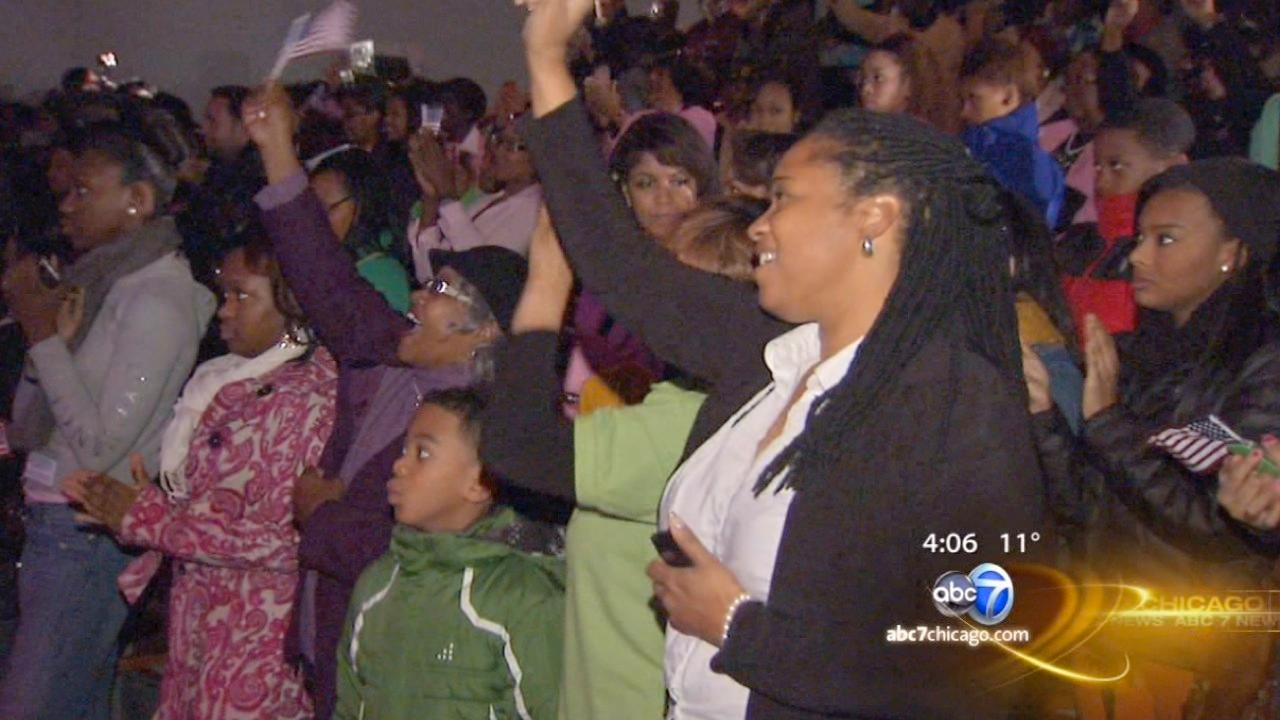 DuSable Museum and Gary Comer Youth Center celebrate Obama 2nd term, Martin Luther King Jr. Day