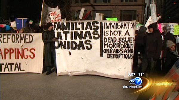 Immigration activists call for immediate action