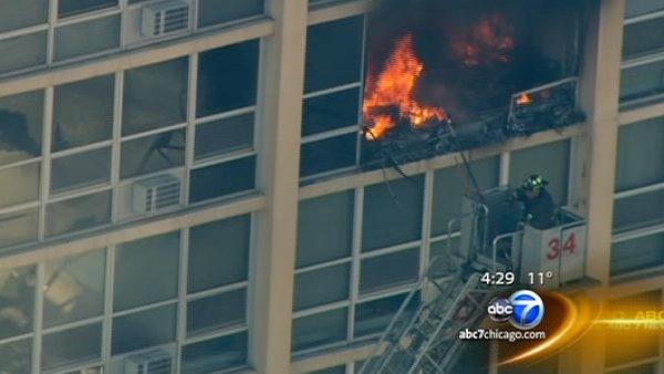 Residents share stories of deadly high-rise fire