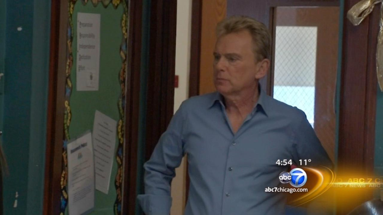 Pat Sajak uses fame to help Chicago autism organization