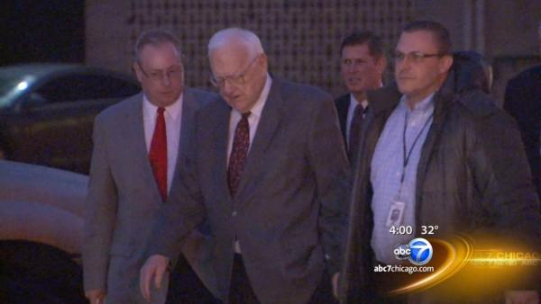 George Ryan in Kankakee on home confinement