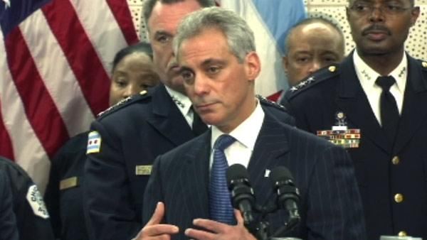 Mayor Emanuel's news conference to announce plan