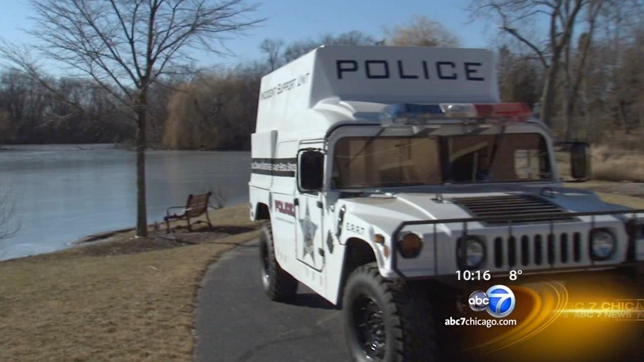 I-Team Exclusive Investigation: A Humvee -- for a school?