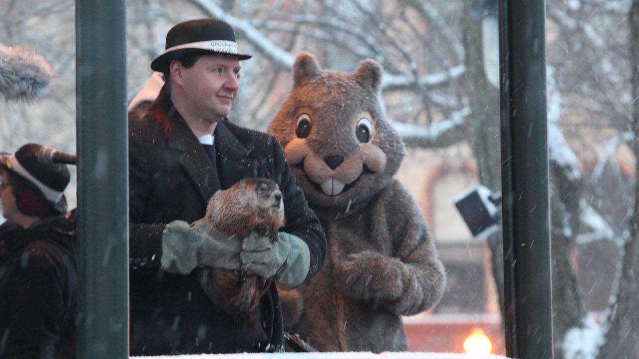 Groundhog Day   in Woodstock, Illinois