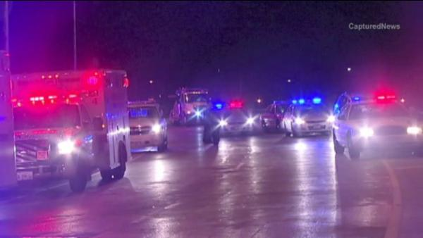 Woman found shot to death in van on expressway