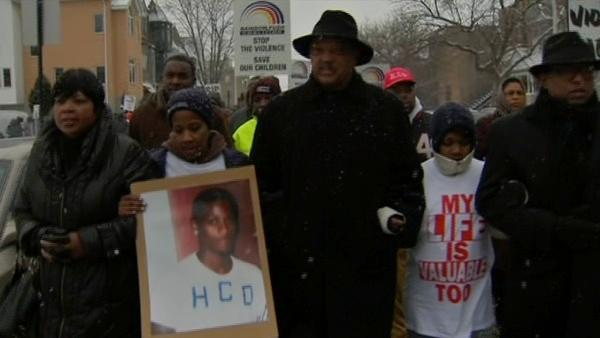 March honors slain teen