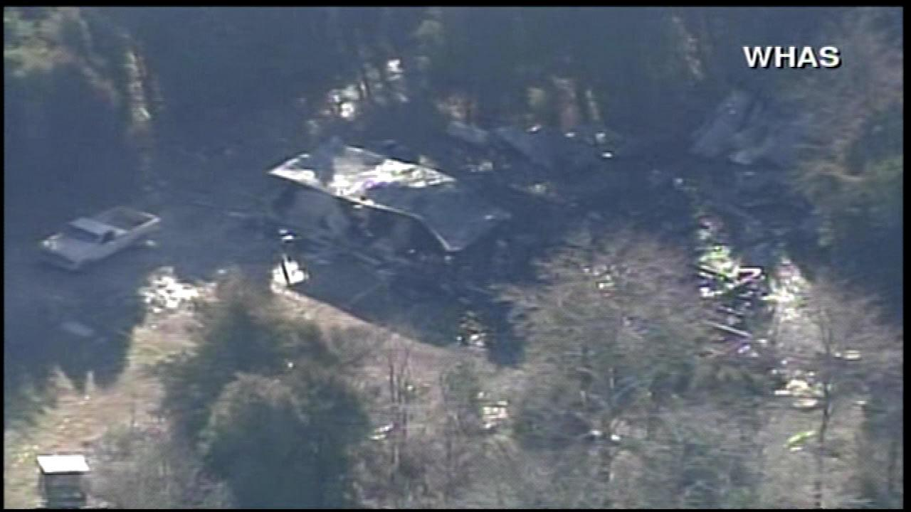 Crawford County Sheriff Tim Wilkerson says early Thursdays fire near the Crawford County community of Sulphur about 30 miles west of Louisville, Ky., killed a man who owned the mobile home, his 8-year-old daughter, his girlfriend and her 3-year-old son. The mans half-brother also died in the fire that broke out around 12:30 a.m., early Thursday morning, February 7, 2013.