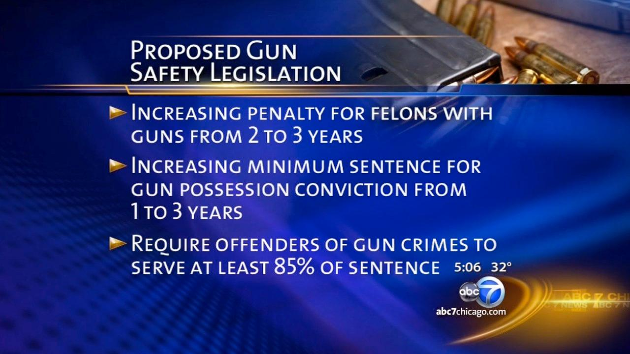 Chicago officials push for new gun safety legislation