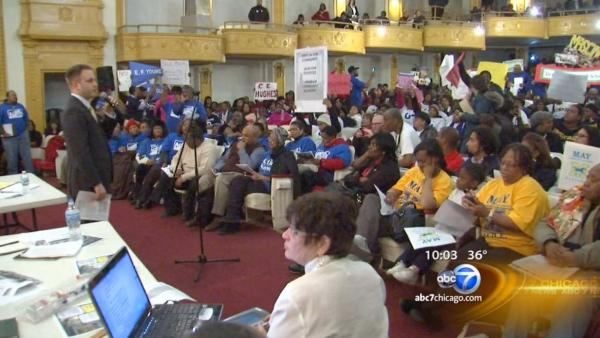 Community lashes out about possible CPS closings at forum