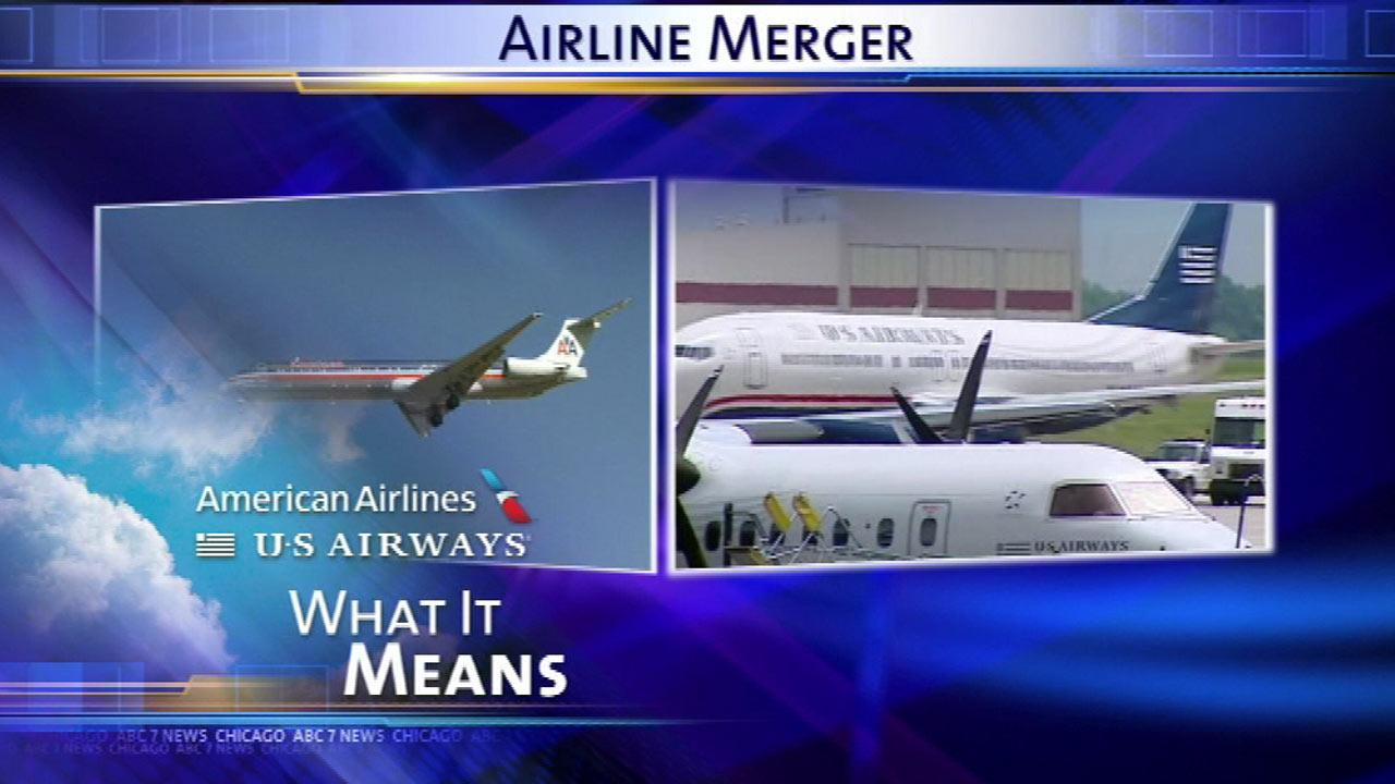 What the American Airlines-U.S. Airways merger means for flyers