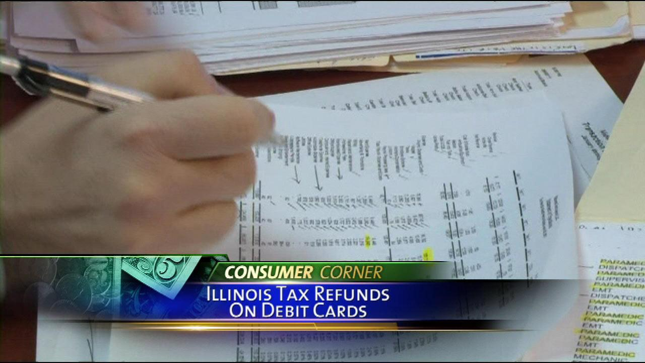 Get your Illinois tax refund on your debit card