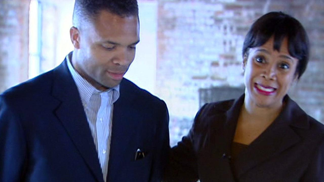 Jesse Jackson Jr. and Sandi Jackson are seen in this file image.