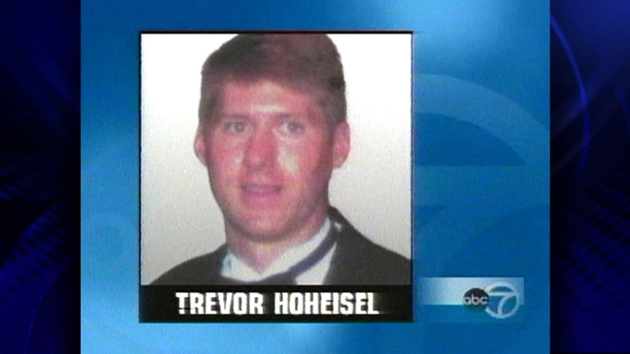 Trevor Hohseisel - went missing 3/7/98 and was found 3/10/98 downtown in the Chicago River. The 27 year old was out with friends partying.