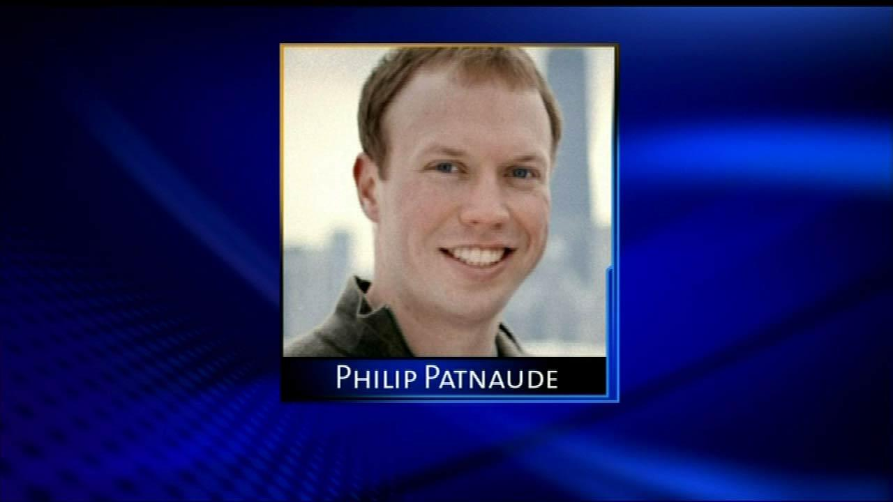 Philip Patnaude -- missing 3/3/12, found 3/5/12 in Belmont Harbor. Was out with friends late then told them he was going to the lakefront. U of I graduate working as a consultant in the energy industry.