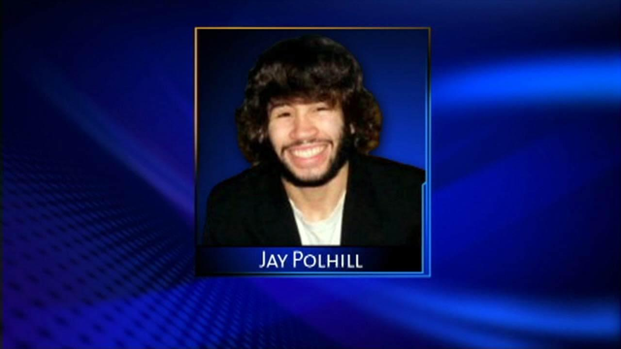 Jay Polhill- missing 2/28/10, found 3/2/10 20 miles from his dorm in the Calumet River. 20 year old Columbia College photography major. Multiple injuries to body. Manner of death revised from unknown to homicide.