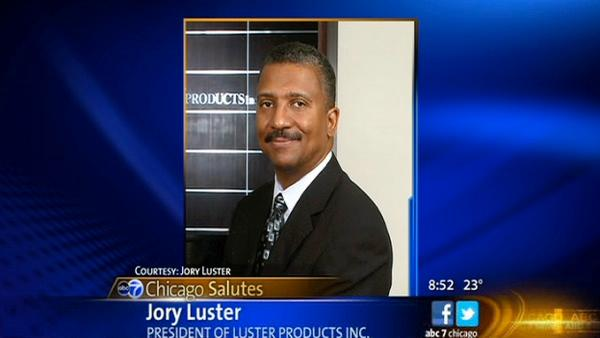 ABC7 Chicago Salutes: Jory Luster