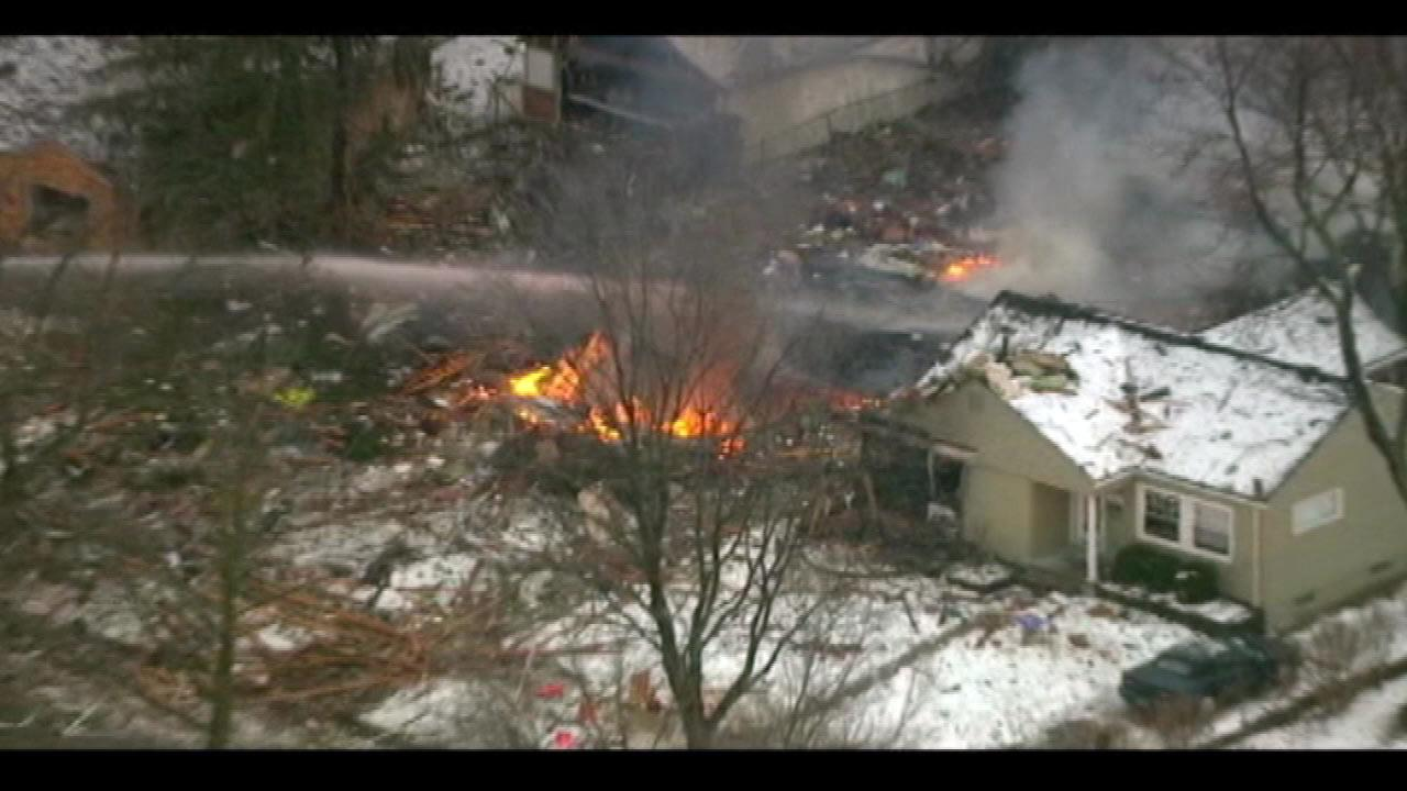 A man in Royal Oak, Michigan, was killed in a house explosion.