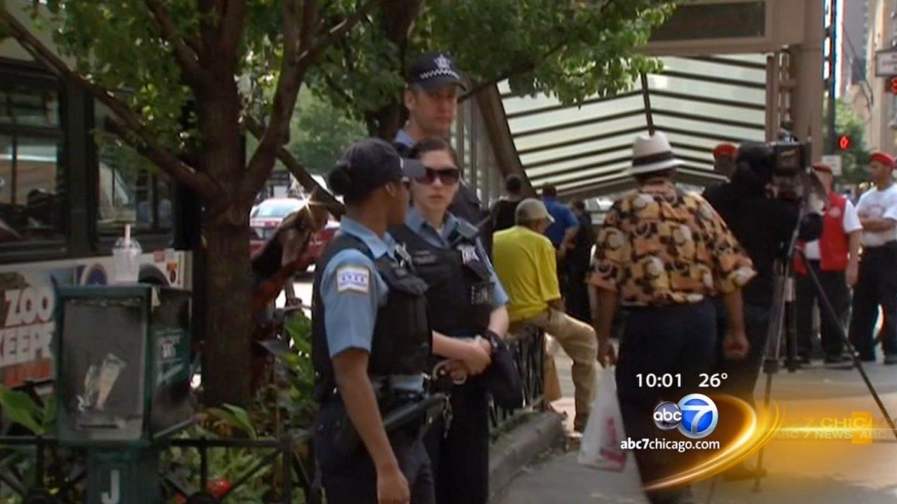Michigan Avenue warning: Teens allegedly planning disturbance