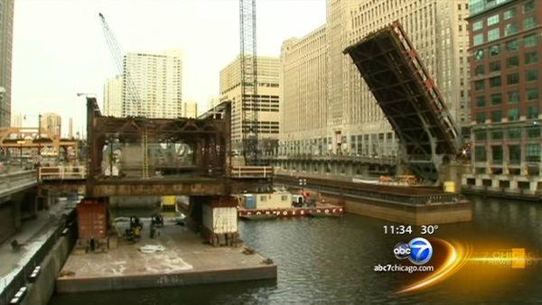 Weekday commutes begin during Wells Bridge construction