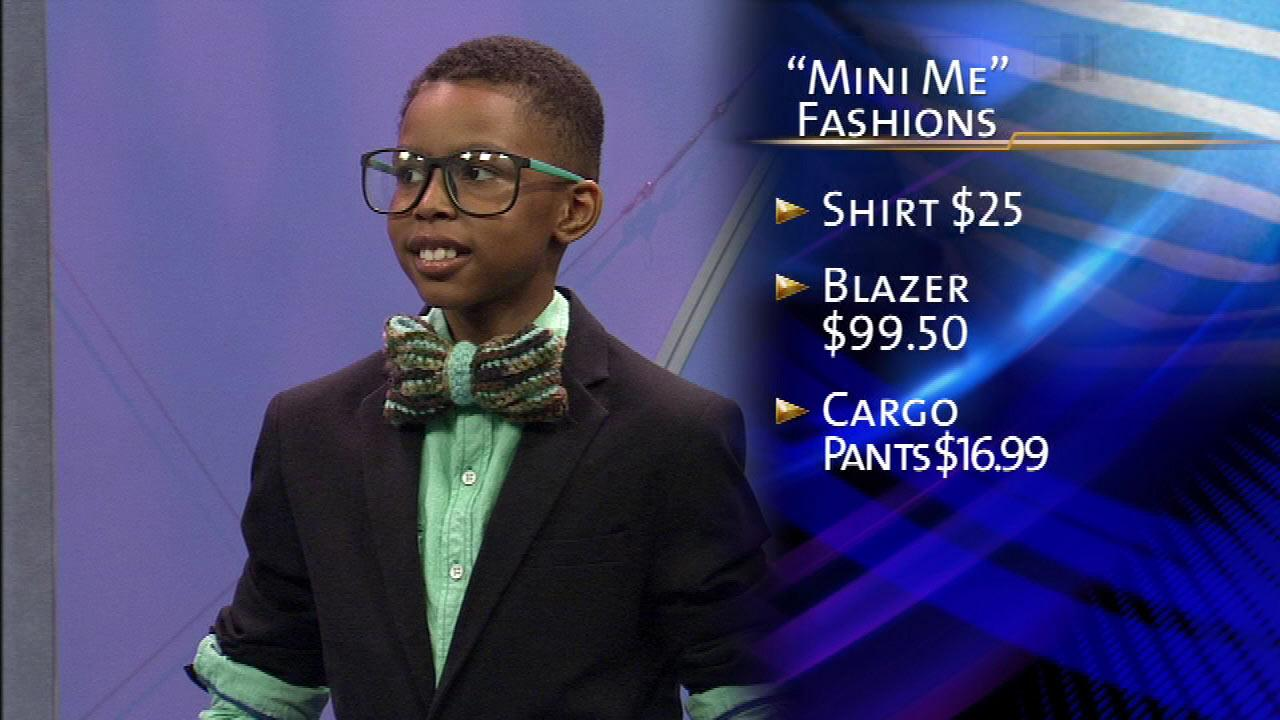 Some pint-sized models helped preview the Fashion Wars My Mini Me Fashion Show on ABC7 News at 11, Wednesday, March 6, 2013.