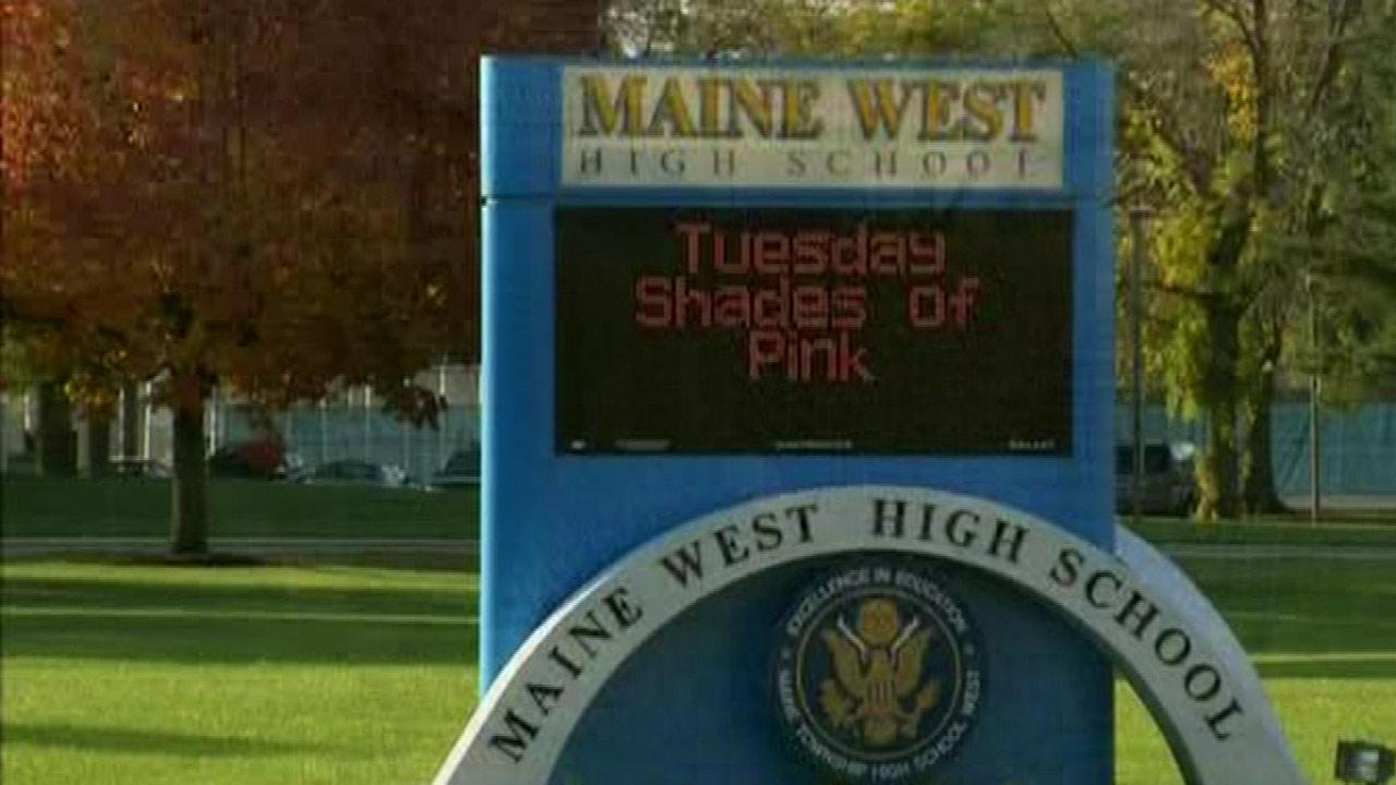 Maine West High School is seen in this file image.