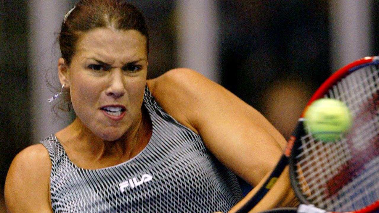 Tennis star Jennifer Capriati is seen in this AP file image.